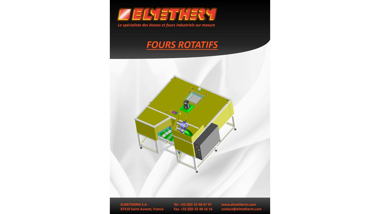 Brochure four rotatif